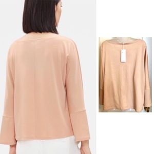 Eileen Fisher Tops - 💋Eileen FISHER Top Rosewater Flared 3/4 Sleeve